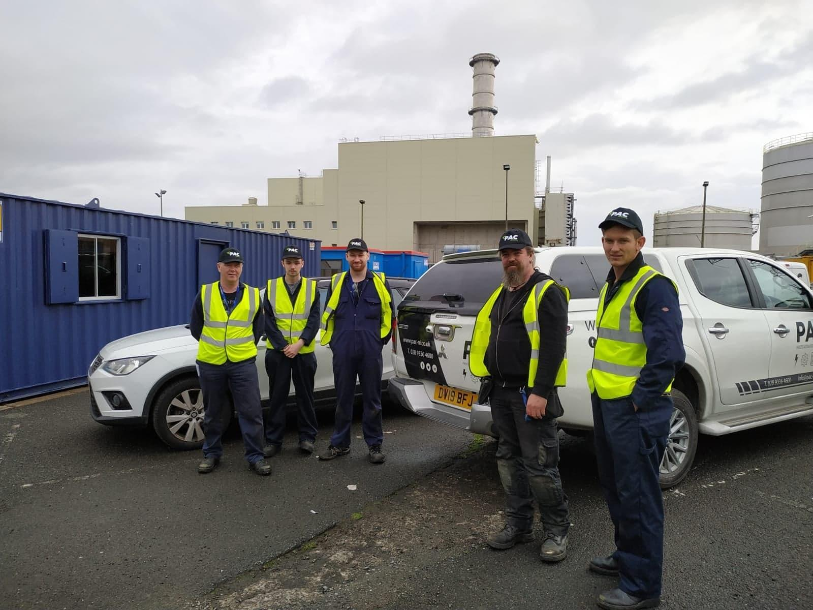 PAC Calibrations Northern Ireland Power Station