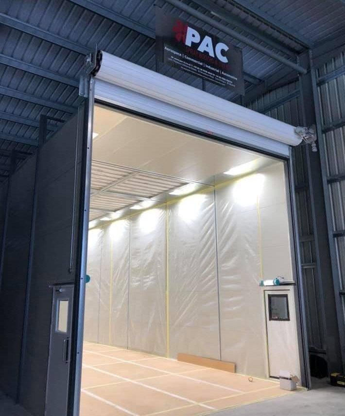 Spray Booth External